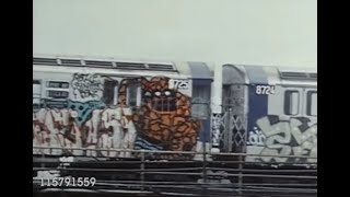 1970's New York subway graffiti history video put together by Rudy V