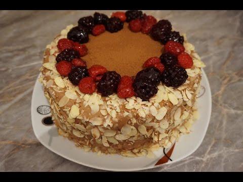 Бисквитный торт 296 рецептов приготовления пошагово