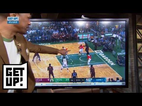 Jalen Rose breaks down film of Celtics dominating LeBron James in Game 1   Get Up!   ESPN