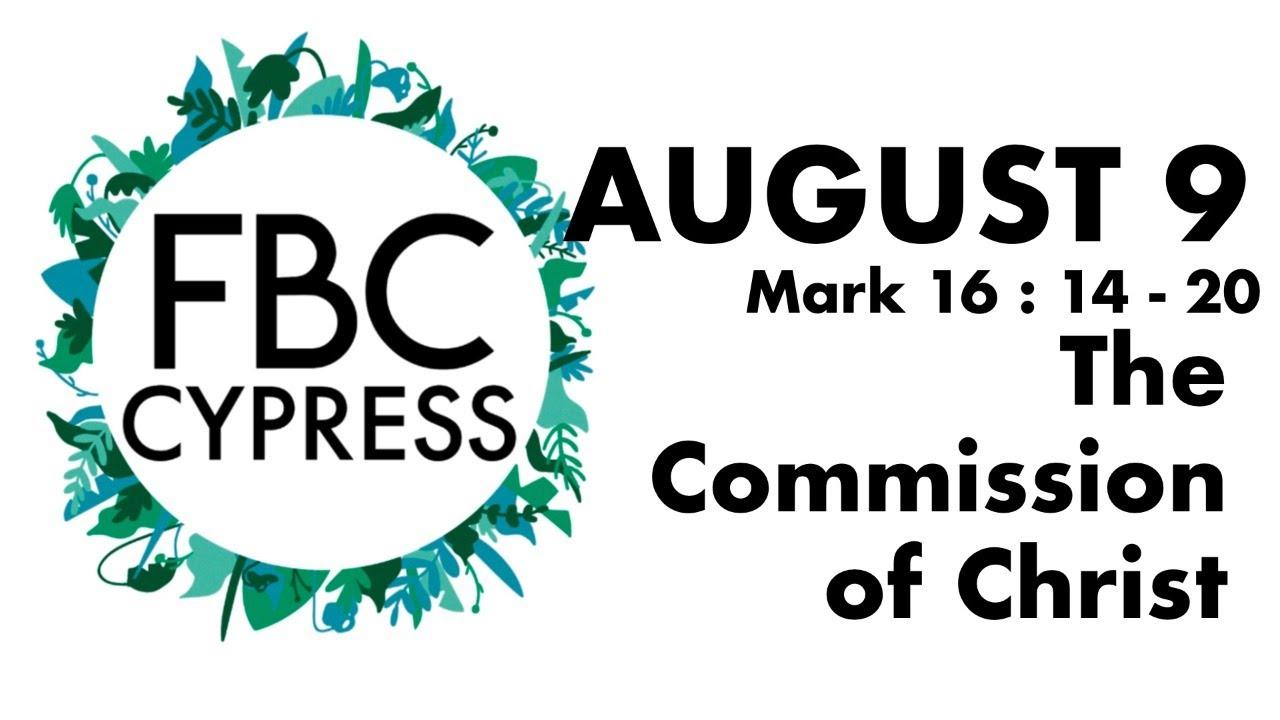 FBCC Live Stream Church Service   8.9