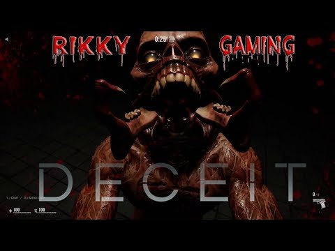 [HINDI] DECEIT | Horror starts here  | LETS Do some fun | Enjoy Stream | Rikky's Gaming |