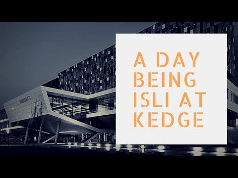 A day of ISLI at KEDGE Bordeaux, France | Vlog du học Pháp