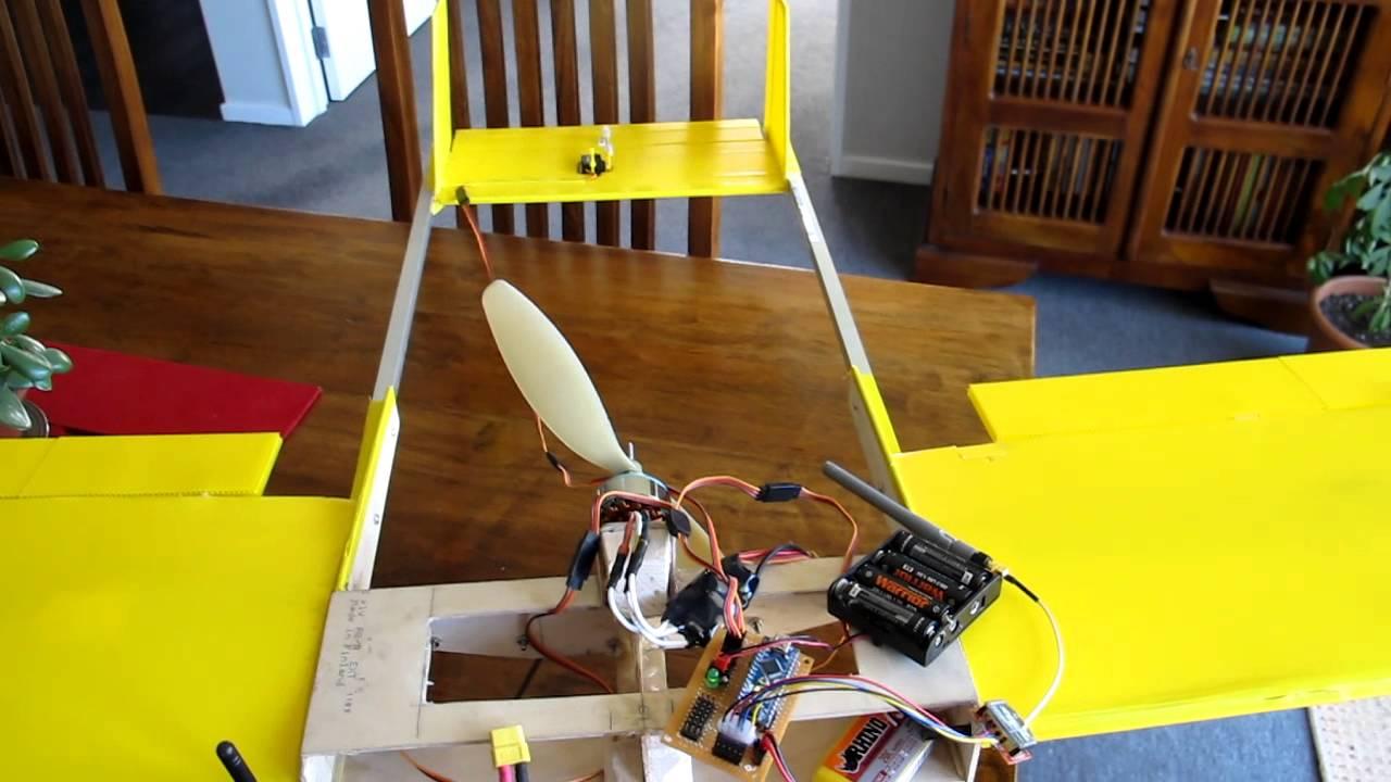 Xbee arduino scratch built ghz remote control