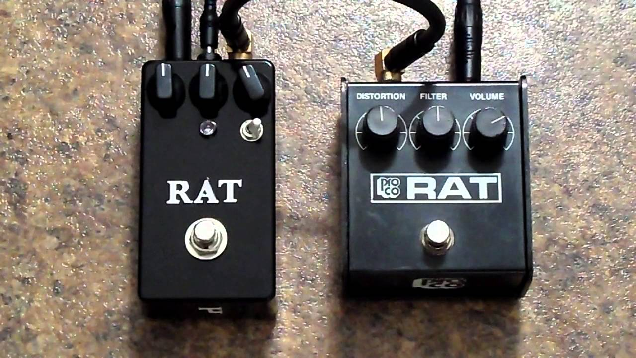proco rat vs tl pedals vintage rat clone youtube. Black Bedroom Furniture Sets. Home Design Ideas