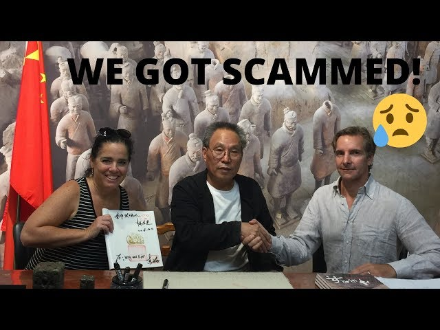 WE GOT SCAMMED at the TerraCotta Warriors