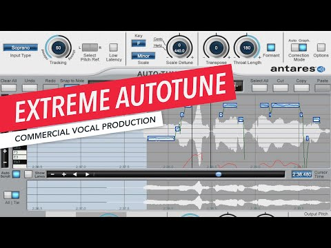 Music Production | Extreme Tuning with Autotune | Formant | Prince Charles Alexander