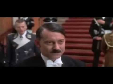 Hitler catches a scene of his own biopic