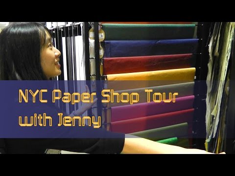 NYC Paper Shop Tour Part 3 (with Jenny Chan from OrigamiTree.com)