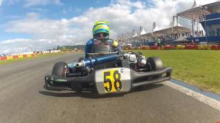 Copa SPR Light de Kart 1ª Etapa - Segunda Bateria   Matheus Schillo #12