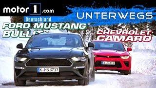 Ford Mustang Bullitt vs. Chevrolet Camaro | UNTERWEGS mit Daniel Hohmeyer