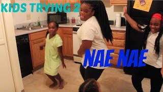 Trying to Nae nae ?! Vlog#7