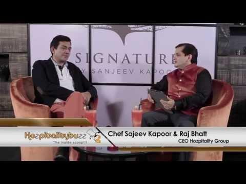 Master Chef Sanjeev Kapoor's interview with Raj Bhatt on- Hozpitality Buzz Season 1