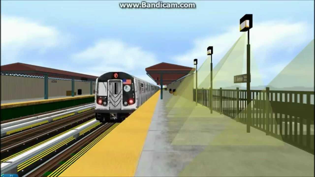 OpenBVE Train Simulator - R160 on the (Q) Subway Train (Astoria Queens, NY)  by SIMoViEStAr