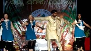 Bollywood Dance Dublin to Telugu (South Indian) Songs in ITWA ugadi event dublin 2013.