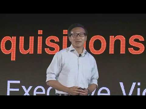 Joe Tsai Presents Alibaba's M&A Philosophy