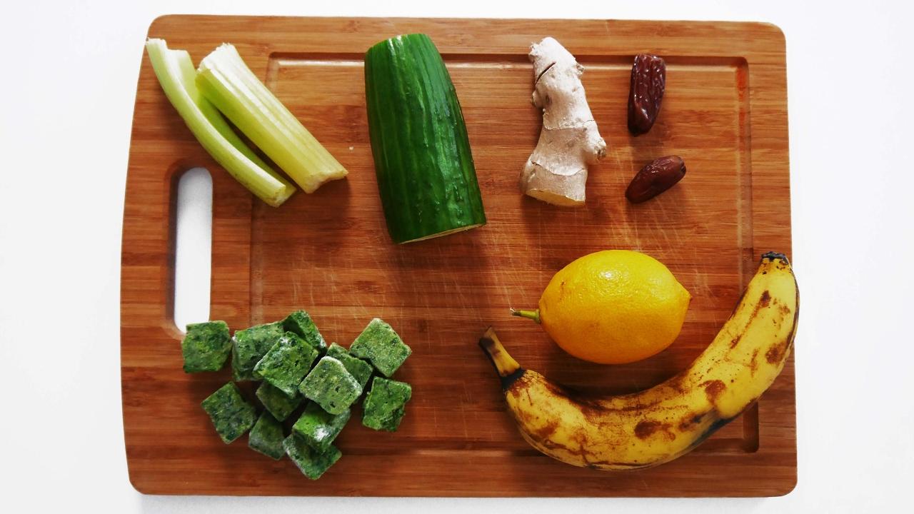 Green Smoothie Detox Ingwer Und Zitrone Fitness Rezepte Zum