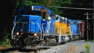 Happy Train Engineers Wake up Amherst, MA