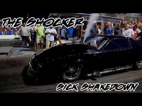 STREET OULAWS KYE KELLEY SHOCKER ROCKETS DOWN THE TRACK AT HOUSE OF HOOK!!