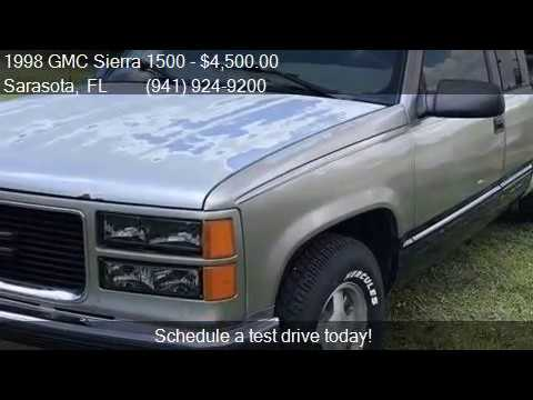 1998 GMC Sierra 1500 Sierra SLE for sale in Sarasota, FL 342