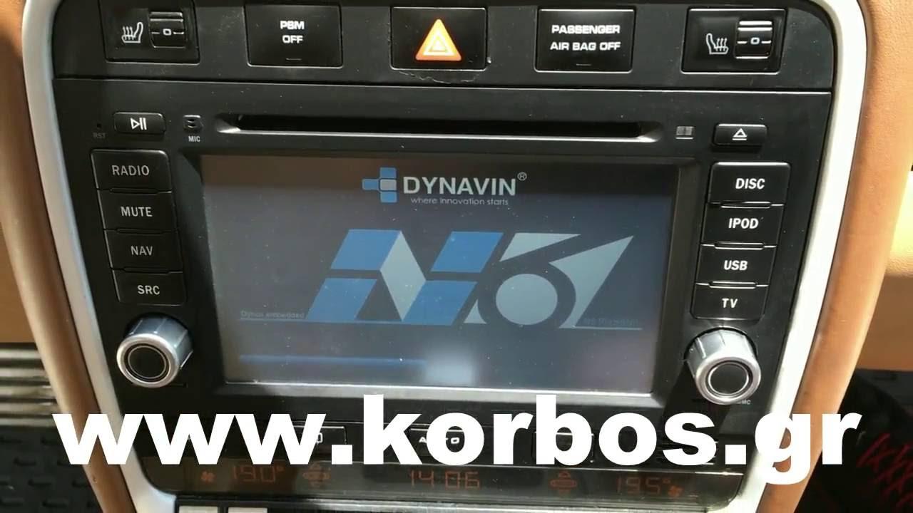 dynavin для porsche cayenne n6-pc с камерой