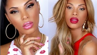 Nicki Minaj & Beyonce Feeling Myself Inspired Makeup Tutorial !!!