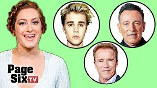 Justin Bieber's Sneakers, Arnold Schwarzenegger's Boots, and Bruce Springsteen's Son | Page Six TV