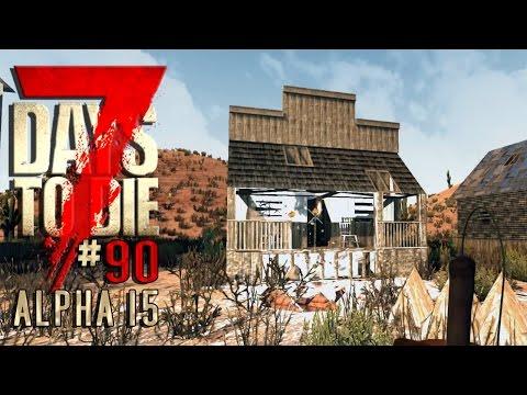 7 DAYS TO DIE Alpha 15 #90 • Spreng-Experimente • 7D2D Gameplay German Deutsch