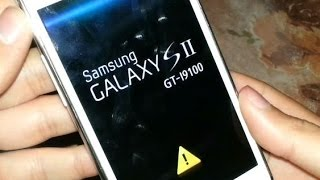[ GT-I9100 ] Remove The Yellow Triangle & Reset Flash Counter Samsung Galaxy S2