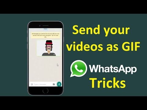 Whatsapp tricks to share your video as GIF images!! - Howtosolveit