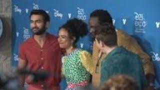 Kumail Nanjiani and 'The Eternals' stars welcome co-star Kit Harington