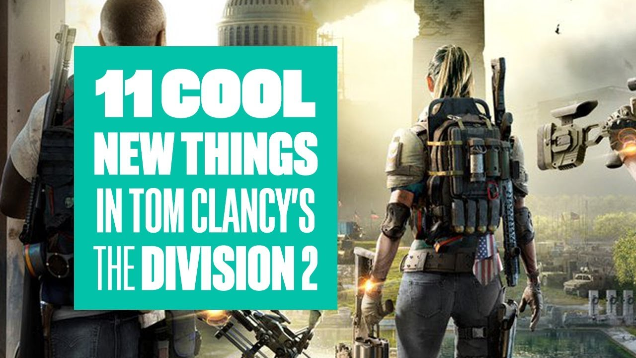 The Division 2 won't be on Steam, but it will be on the Epic Games