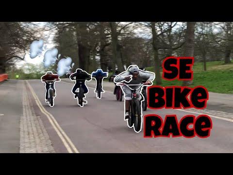 INTENSE HILLBOMB RACES! The Bikelife Way...