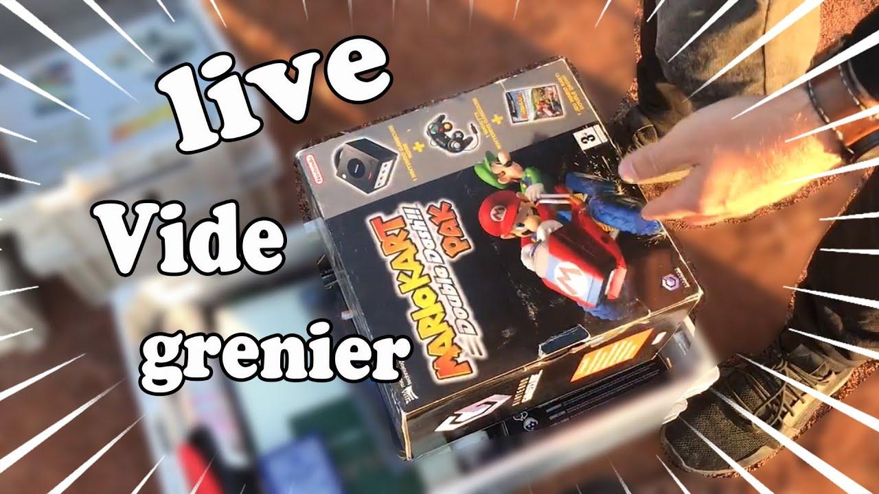 LA CHANCE ME SOURIT À NOUVEAU !!! LIVE VIDE GRENIER