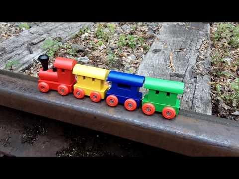 Pociąg dla dzieci,ciuchcie,lokomotywa,parowóz.Züge