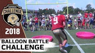 Balloon Battle Challenge   2018 QB Challenge   Ep. 3
