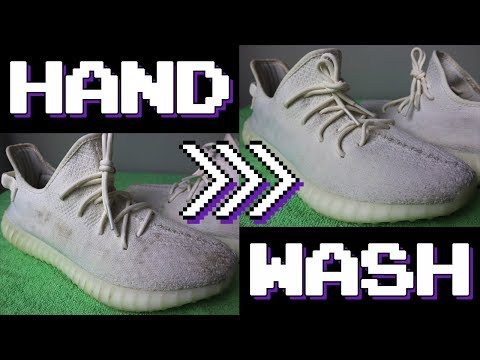 How to Hand Wash Cloth Sneakers (Primeknit Flyknit and Canvas)