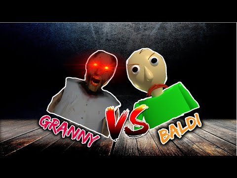 GRANNY VS BALDI - NEW MULTIPLAYER HORROR GAME   ANDROID