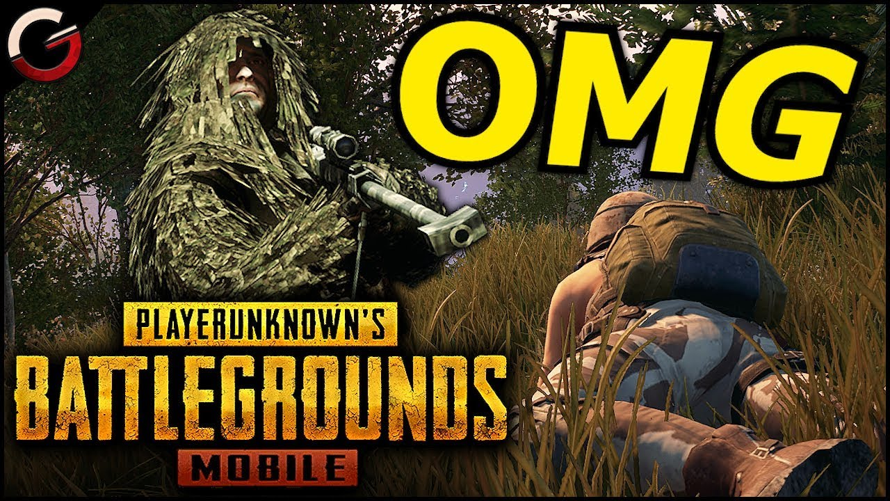 Pubg Mobile Android Ios Gameplay Ultra Graphics: OMG! GHILLIE SNIPER IN PUBG Mobile!