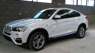 2016 2017 BMW X4 xdrive 20d Exterior and Interior