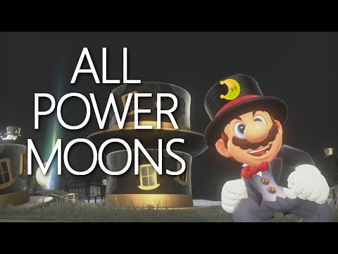 Cap Kingdom: All Power Moons Guide - Mario Odyssey