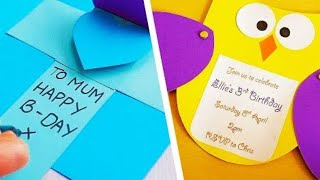 5 DIY Greetings Cards For Any Occasion | Handmade Greeting Cards | Easy Paper Crafts | Craft Factory