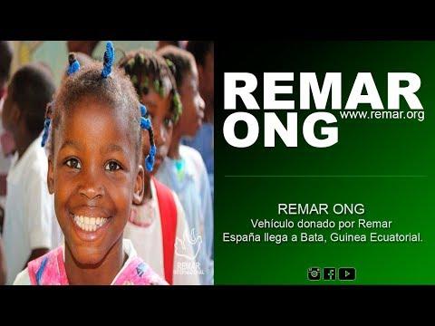 REMAR ONG - Vehículo donado por Remar España llega a Bata, Guinea Ecuatorial.