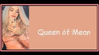 Sarah Jeffery - Queen of Mean (Lyrics) - Descendants 3