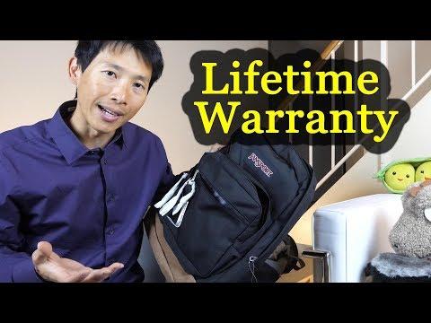 Claiming Jansport Lifetime Warranty