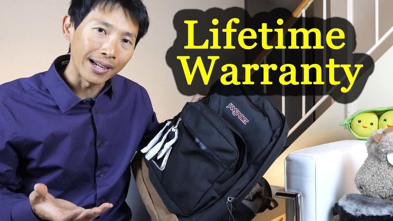 Claiming Jansport Lifetime Warranty