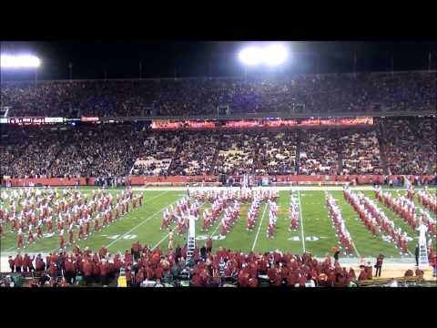 Iowa State University Marching Band - ISC Fight Song Medley - Homecoming 2012