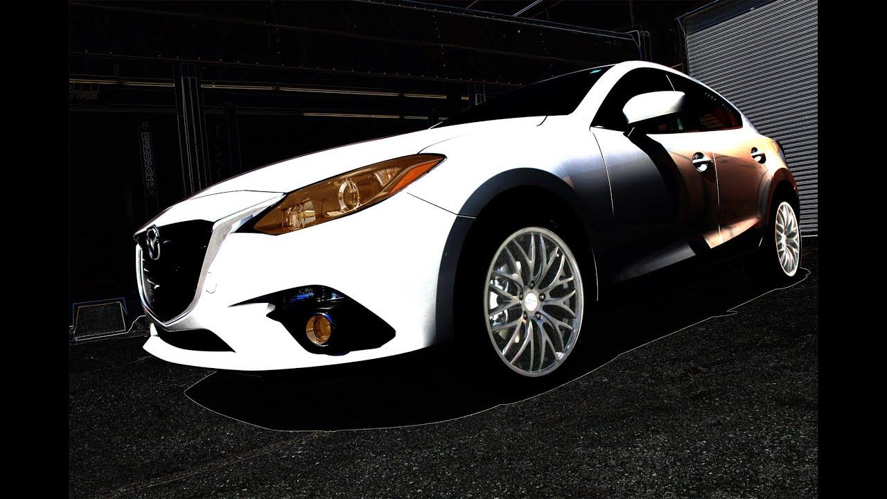 Katana GTM Wheels on 2014 Mazda 3 - YouTube