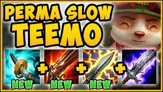 WTF! NEW CRIT ITEMS = PERMASLOW TEEMO?? PERMASLOW TEEMO TOP SEASON 9 GAMEPLAY! - League of Legends