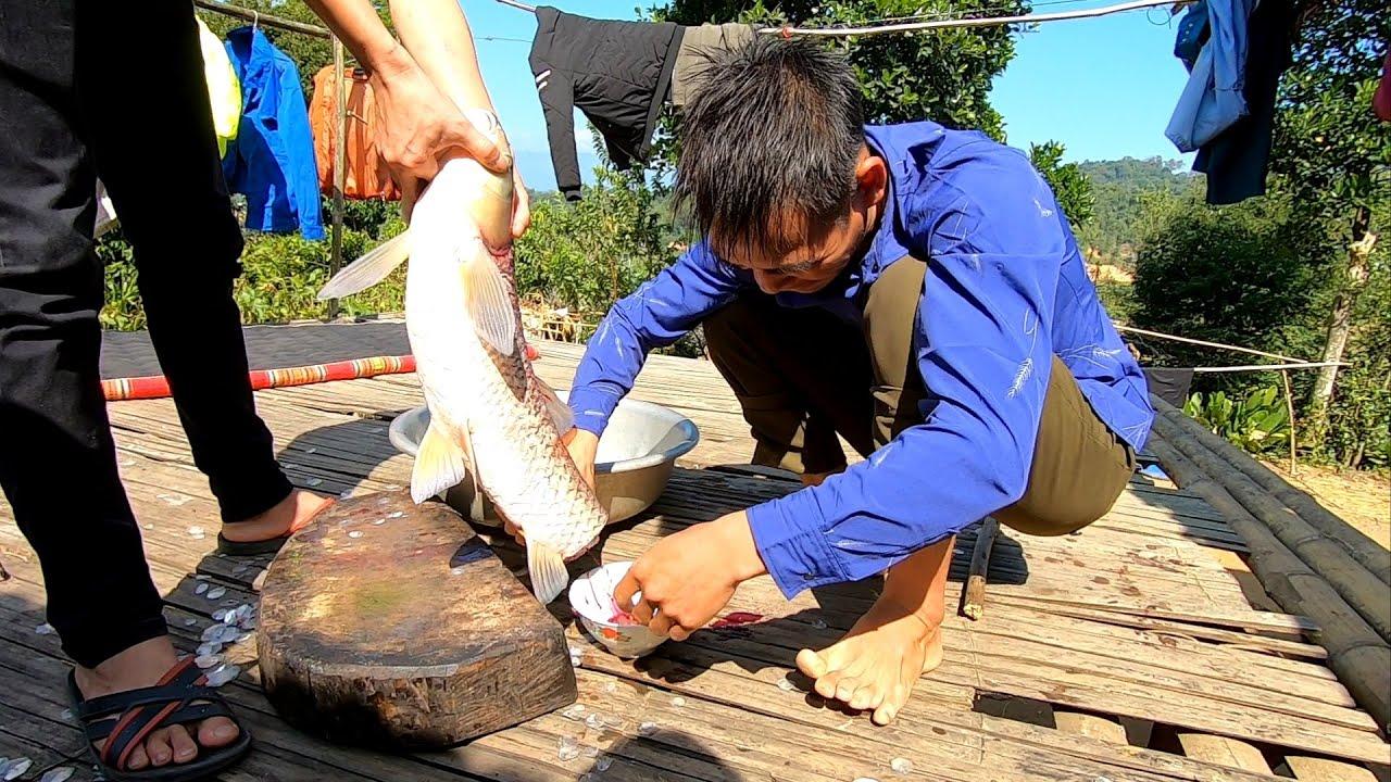 Tiết Canh Cá Trắm 5kg, Tiết Canh Gà, Gỏi Cá – Cơm Mới Trên Mường Phăng • Vẻ Đẹp Tây Bắc