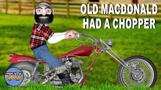 Old MacDonald had a chopper - Nursery Rhymes